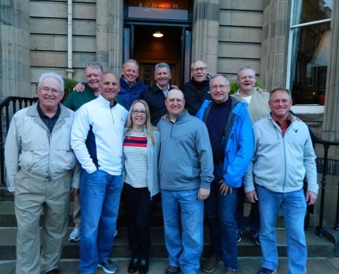 Golfing Bunch at Edinburgh_Scotland_Sullivan Golf Travel