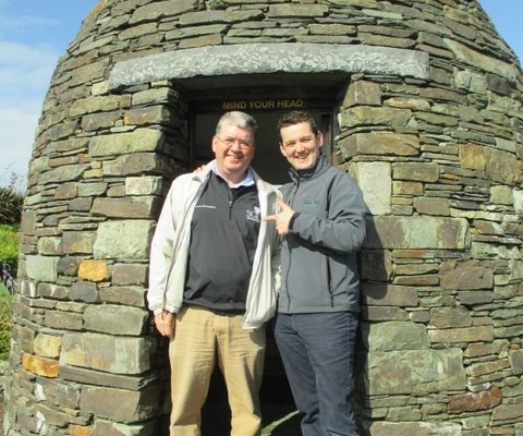 Happy Golfers_John and Cathal_Sullivan Golf Travel