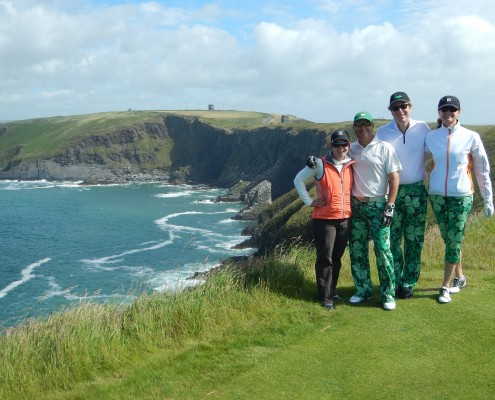 Happy Golfers_Old Head Golf Course_Sullivan Golf Travel
