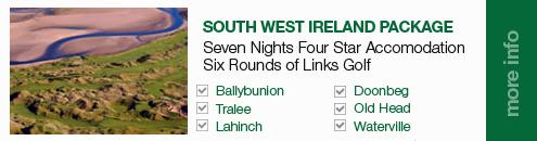 South West Ireland 2014 Golf Package_Sullivan Golf Travel