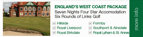 England West Coast Golf Package_Sullivan Golf Travel